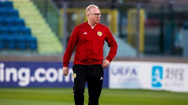 Alex McLeish: He apologised to fans following their defeat to Kazakhstan.