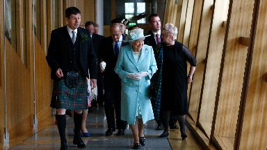 Her Majesty the Queen at the Opening of the Fifth Session of the Scottish Parliament - Free to use