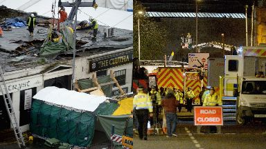 Clutha: Ten people were killed. Clutha Helicopter tragedy