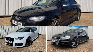 Three Audis stolen from the Calder Motor Company, April 2019