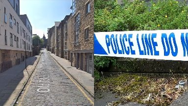 Edinburgh: Police are treating the incident as attempted murder. Old Tolbooth Wynd
