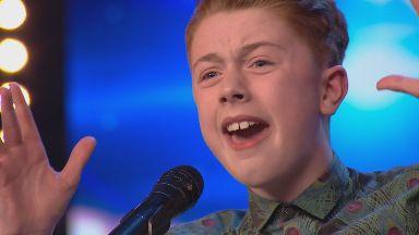 Kerr James on Britain's Got Talent, Scottish singer aged 12