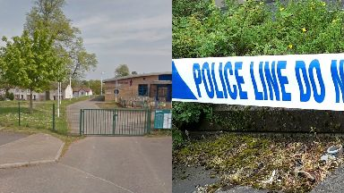 Slashing: The attack happened in Castlemilk, Glasgow.