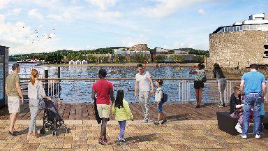 Loch Lomond tourist development Lomond Banks artist's impression