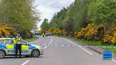 RTC on A96 at Brodie Countryfare