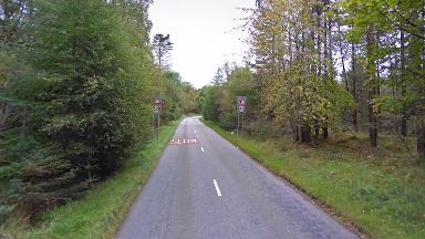 Crash: Road between Kirkbrae, Cults, and Kingswells.