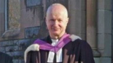 Rev Johnny Paton: The 60-year-old was found dead.