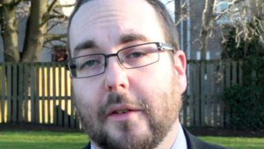 Gregor Murray: The councillor has been suspended. SNP Dundee