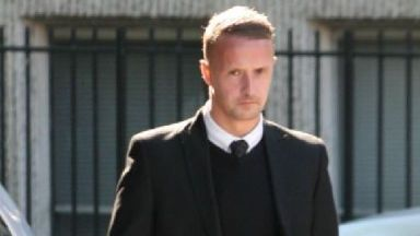 Leigh Griffiths: The Celtic striker was caught speeding.