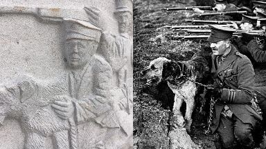 Airedale terrier: The sculpture has been funded by donations.