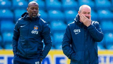 Alex Dyer and Steve Clarke