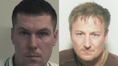 Murder: Kevin Bishop (left) was killed by David Collins.
