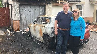 Graeme Campbell: The Tory was in his house with his family. Fire Councillor Strathaven