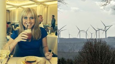 Emma Faulds: The youth worker was allegedly murdered. Wind Farm