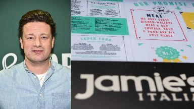 Jamie Oliver: The chef has two restaurants in Scotland. Glasgow and Edinburgh