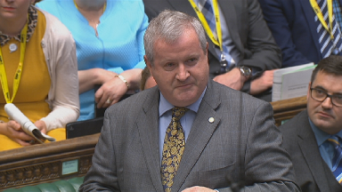 Ian Blackford SNP Westminster leader Prime Minister's Questions PMQS May 22 2019.