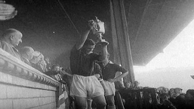 Hearts lift 1956 Scottish Cup