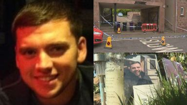 Steven Donaldson: The 27-year-old was set on fire. Kirriemuir Murder