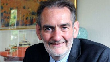 Sir Iain Diamond: A review is under way. University of Aberdeen