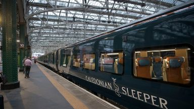 Caledonian Sleeper: The service suffered technical issues.