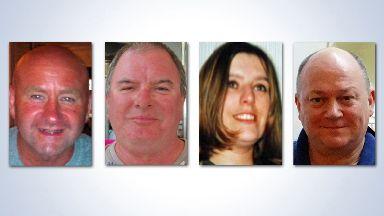 Victims of Super Puma crash in Sumburgh 2013, Sarah Darnley, Gary McCrossan, Duncan Munro and George Allison