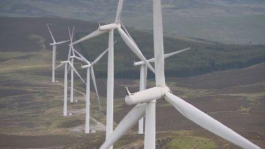 Griffin wind farm in Perthshire