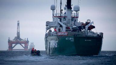 Transocean PBLJ, Greenpeace