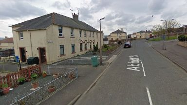 Injured: A child was taken to hospital. Maybole Abbot Street South Ayrshire