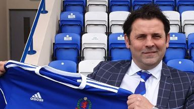 Paul Hartley Cove Rangers manager