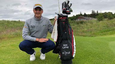 Sam Locke pro golfer July 2019