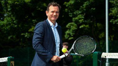 Blane Dodds, chief executive of Tennis Scotland