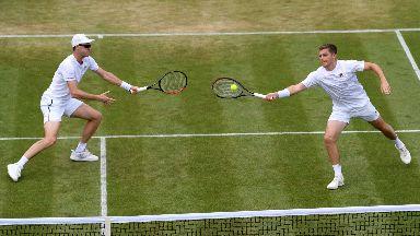 Jamie Murray and Neal Skupski Wimbledon 2019
