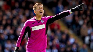 Vaclav Hladky: The goalkeeper saved three penalties against Dundee United.