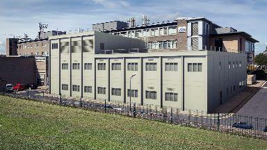 St Andrews University temporary lab