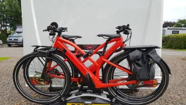 Electric bikes stolen in Cramond, Edinburgh in July 2019