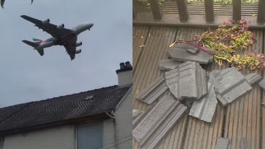 Planes: Residents are calling for action. Clydebank