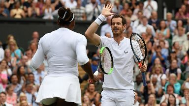 Wimbledon: Andy and Serena progressed. Andy Murray Serena Williams