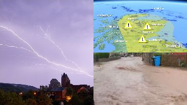 Thunderstorm: Hundreds have experienced power failures.
