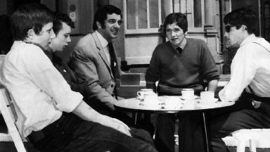 Frankie Vaughan in Easterhouse
