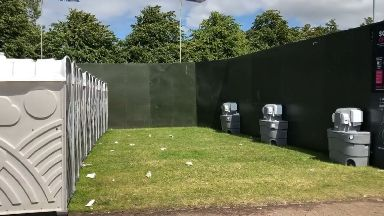 TRNSMT: The woman was grabbed as she went to the toilet.
