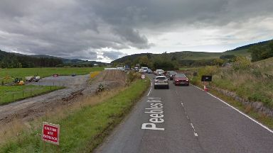 A72 at Horsburgh Ford, Peebles