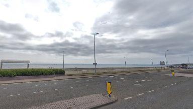 Kirkcaldy Beach esplanade