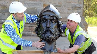 William Wallace restoration for the National Monument