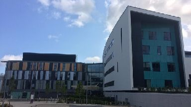 Edinburgh's new hospital for sick children.