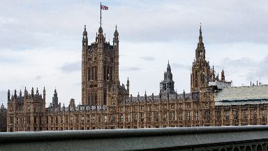 Image from April 2019 of Houses of Parliament with scaffolding good as generic qfor House of Commons stories