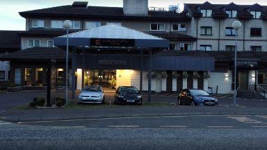 Leonardo Hotel: The building has been evacuated.