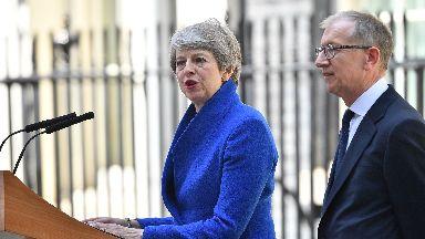 Theresa May farewell speech July 24 2019.