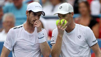Andy Murray Jamie Murray Citi Open Washington July 2019
