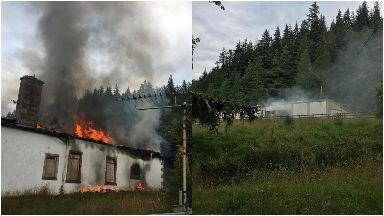 Boleskine House once owned by Jimmy Page destroyed by fire August 2019