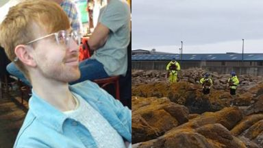 Ruaridh Sandison: Divers and a helicopter were called. Peterhead